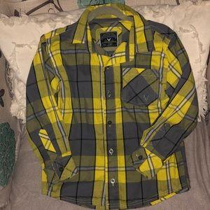 Boys button down collared shirt